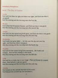 liturgy for the creation season u2013 quodcumque