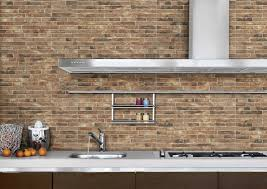 Faux Brick Kitchen Backsplash by Brick Wall Panels For Kitchens Decoration Interior Faux Brick