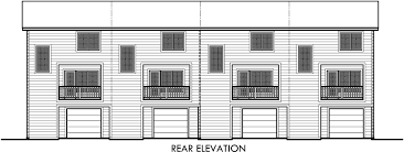 quadplex house plans multi family house plans f 559