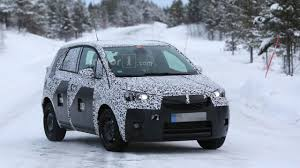 opel meriva 2016 opel meriva prototype breaks down gets rescued by a toyota hilux