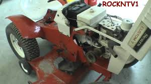 sears custom 7 garden tractor youtube