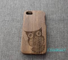 custom owl wood iphone wood iphone 6 wood iphone 6plus