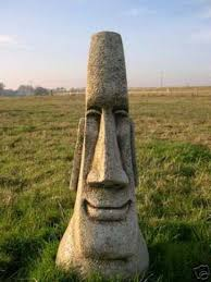 stunning easter island garden tiki statue berkshire