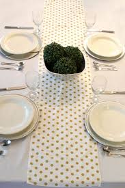 gold polka dot table cover 107 best table runners images on pinterest table runners gold