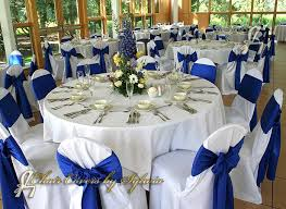 blue chair sashes chicago chair ties sashes for rental in royal blue in the lamour