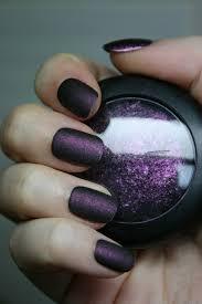 matte young punk clear nail polish clear nails and eyeshadow