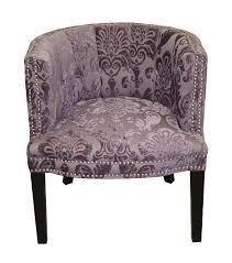 damask chair mercer41 holzer plum fan damask barrel chair reviews wayfair