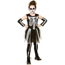 skelebones girls halloween fancy dress costume the mad hatter