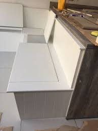 Kitchen Storage Bench Seat Plans by Best 25 Built In Bench Ideas On Pinterest Window Bench Seats