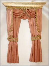 Blue And White Striped Drapes Interiors Marvelous Gold Color Drapes Gold Drapes With Valance