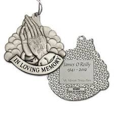 pewter size in loving memory praying memorial