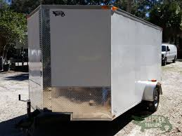 Exterior Doors B Q by 7x12 Sa Trailer White Barn Doors Side Door Brakes Extra