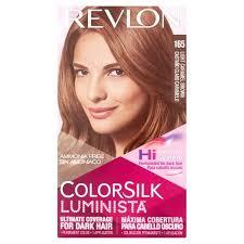 Revlon Colorsilk Luminista 165 Light Caramel Brown Permanent Hair
