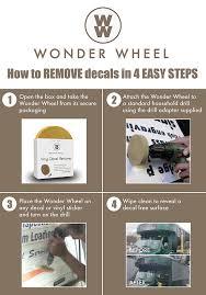 amazon com decal remover eraser wheel remove car decals vinyl