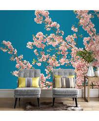 graham u0026 brown cherry blossom wall mural wallpaper wall art macy u0027s