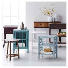 Console Bookshelves by Owings Console Table 2 Shelf Espresso Threshold Target