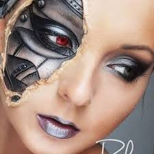 special effects makeup steunk junkies on cool cyborg special effects makeup