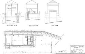 Blueprints Houses Simple Boat House Plans Designs Custom Building T Throughout