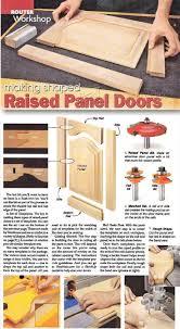 making raised panel doors cabinet door construction techniques