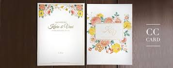 wedding invitations jakarta cc card weddingku