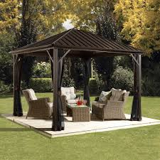 How To Build A Grill Gazebo by Hardtop Gazebos Lowe U0027s Canada