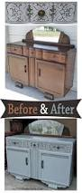 Diy Cabinet Makeover With Glaze by 61 Best Hutches Cabinets U0026 Buffets Images On Pinterest Hutch