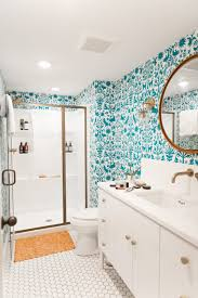 w u0026d renovates a pattern happy basement bathroom wit u0026 delight