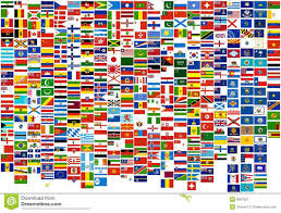 Flags Of The Wrld Flags Of The World Country States And Naval War Fi Stock