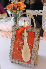 bridal shower game put household items on an apron have the