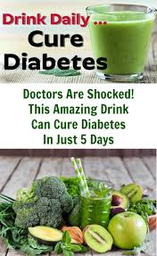doctors are shocked this amazing drink can cure diabetes in just