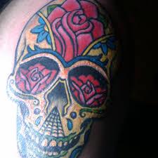 lucky thigh tattoo 6 skull thigh tattoo on tattoochief com