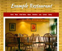 let u0027s eat the restaurant website builder