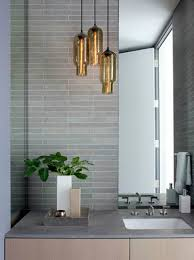Bathroom Hanging Light Fixtures Bathroom Pendant Light In On With Lights For Remodel 11
