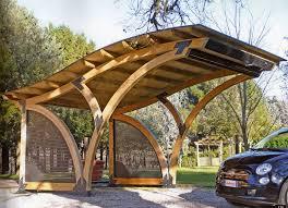 tettoia auto legno barsotti legnami vendita carport garage in legno car box da