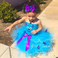 monsters inc sully tutu dress