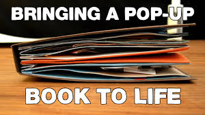 How To Make A Book Report Example Making A Ted Ed Lesson Bringing A Pop Up Book To Life Youtube