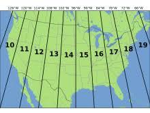 utm zone map universal transverse mercator coordinate system