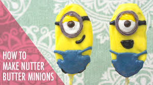 minions nutter butter pops easy tutorial tasty delights youtube