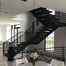 Iron Stairs Design Metal Staircase Stainless Steel Staircase Exterior Metal