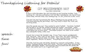 thanksgiving listening for details