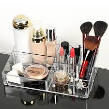 Makeup Organizer Desk New Design Transparent Plastic Box Creative Acrylic Makeup