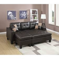 Microfiber Reversible Chaise Sectional Sofa Furniture Reversible Chaise Sectional Microfiber Sectional