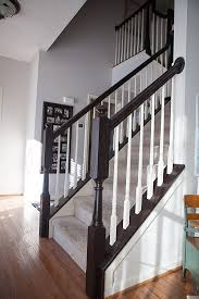 Restaining Banister Timeless And Treasured My Three Girls Diy How To Stain And