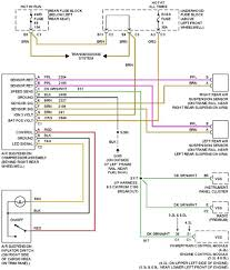 2004 chevy trailblazer radio wiring diagram image details