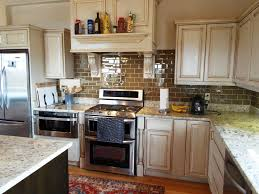 Antique White Cabinets With White Appliances by Antique White Kitchen Cabinets With White Appliances U2014 Kitchen