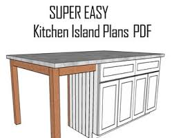 how to build a kitchen island with seating kitchen island with seating etsy