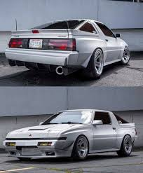 mitsubishi starion ls swap mitsubishi starion with a wide body kit really cool