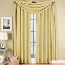 soho panel and scarf window treatment