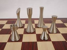 unusual chess sets chessbaron yves tanguy contemporary heavy metal