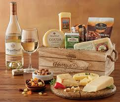 wine and cheese basket wine gifts wine and cheese gift baskets harry david